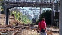 porte aperte al deposito locomotive storiche di Pistoia 2010 con treno storico gr685.089