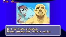Street Fighter Zero 2 Alpha (Brasil) Final Sagat