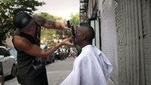 Mark Bustos: Giving confidence to homeless men through grooming.