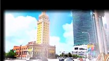 Travel around the world  Miami downtown and Miami beach, Florida