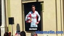 Hommage de la famille à Jules Bianchi
