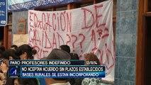 PROFESORES RECALCAN FALTA DE RESPUESTA EN AGENDA CORTA - Iquique TV