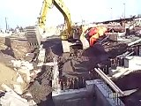 Excavating and Backfill footings