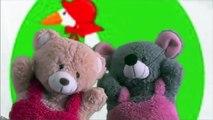 Goosey Goosey Gander Shorter Puppets | Teddy Bear Cartoon Rhymes | Puppet Show For Children