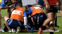 Owen Franks smashes Flip Van Der Merwe