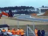 Demo Heikki Kovalainen F1 Renault R26 race car