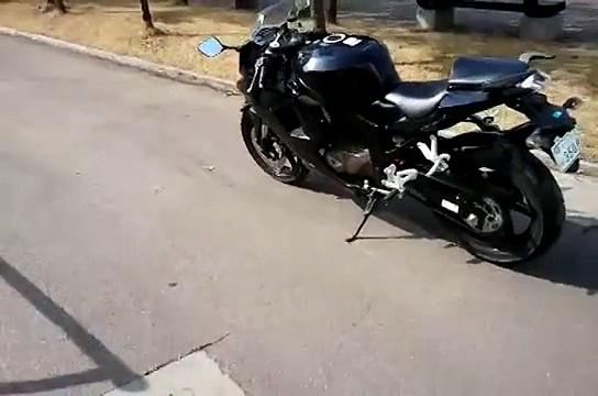 Hyosung GT250R EFI walkaround and start up 효성코멧