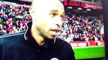 """Thierry Henry Funny Interview """"SHOCKING DEFENDING"""" LFC All Star Game"""