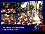 Winston Vallenilla e Ivian Sarcos en apoyo al proceso revolucionario este 10 de enero 2013