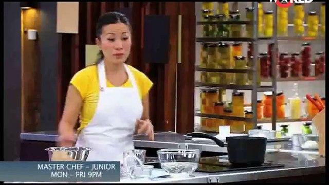 Junior MasterChef - Junior MasterClass - Vanilla Yogurt Pannacotta