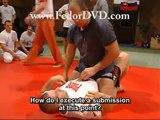 Fedor Emelianenko - Optimal kimura ranges (MMA & UFC DVD)
