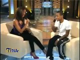 Bow Wow Kisses Tyra Banks On The Lips & Tyra Spits A Freestyle