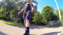 SEBA High Inline Skate Review By City Skater Bill Stoppard -Flow cast #5