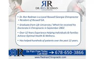 Roswell Georgia Chiropractor Dr. Ron Redman