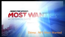 Extrait Démo Need For Speed Most Wanted pour CleCDSMS