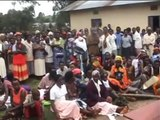 Uganda, Bushenyi: Bednet distributions