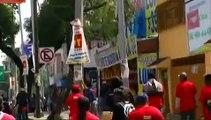 Once Noticias - Marchan a 8 meses de la desaparición de normalistas de Ayotzinapa