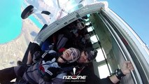 Skydiving in Slow Motion with NZONE Skydive Queenstown New Zealand - NZ's first skydiving company