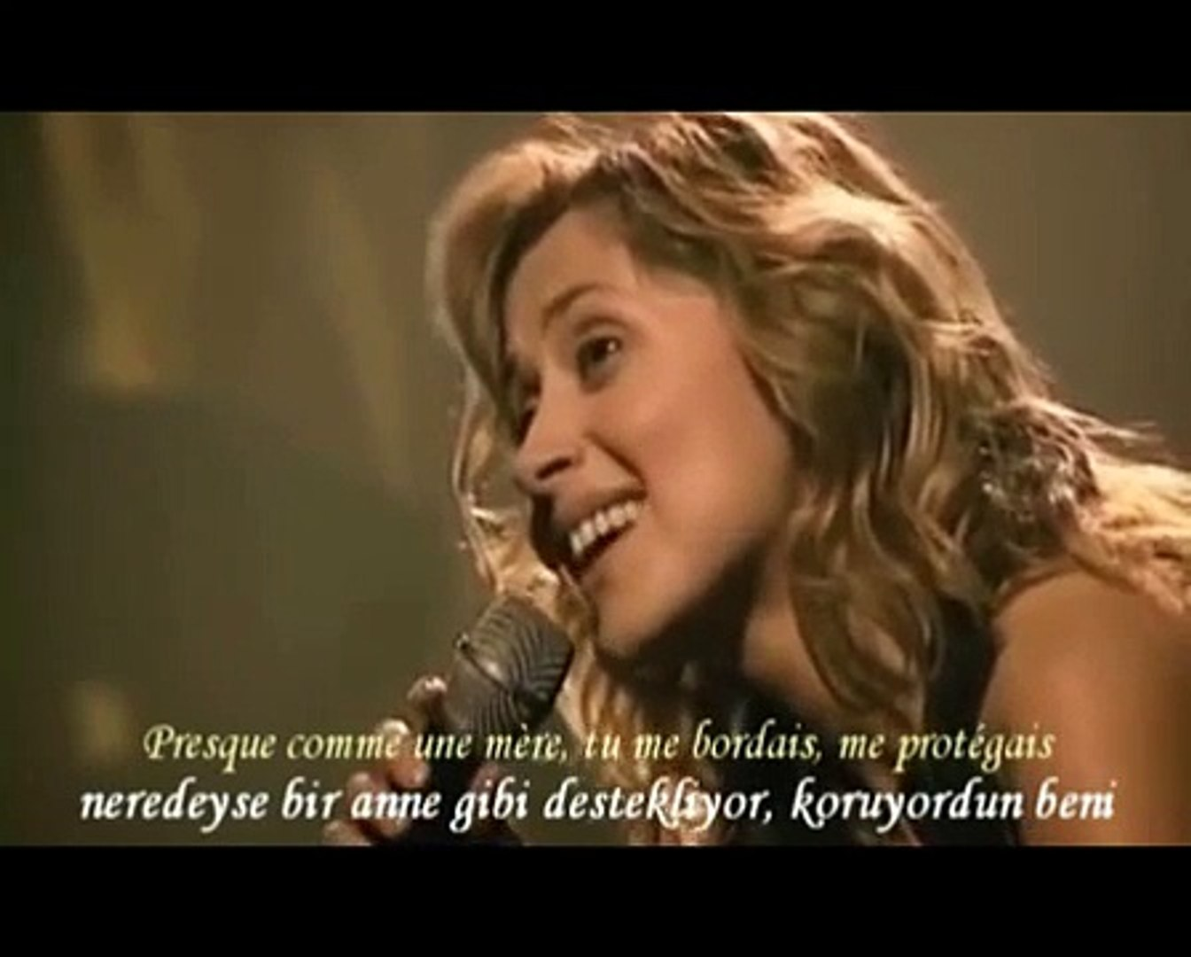 konserde sürpriz-Lara_Fabian-Je t'aime live ( Türkçe altyazı ) dinle