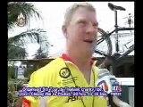 Interview Chris re Tour De Thailand ends in Phuket
