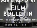 Nazi Small Arms of WWII  Mauser K98, MP40, MG34, MG42— US Military Training Film