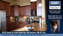 Homes for sale 2620 Santa Fe Vista Road Ne Rio Rancho NM 87144 Coldwell Banker Legacy