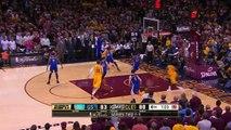 Matthew Dellavedova Hustles   Warriors vs Cavaliers   Game 3   June 9, 2015   2015 NBA Finals