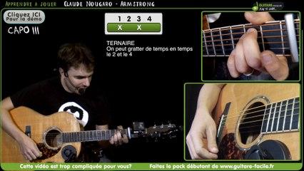 Apprendre Armstrong de Claude Nougaro - Tuto Guitare