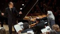 Claudio Abbado & Martha Argerich - Beethoven Piano Concerto No. 1 in C major, Op.15 (Ferrara, 2013)