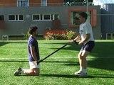 Exercices membre supérieur   exercices flexion   extension de l'épaule