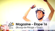 Magazine - White Jersey, 40 years young - Étape 16 (Bourg-de-Péage > Gap) - Tour de France 2015