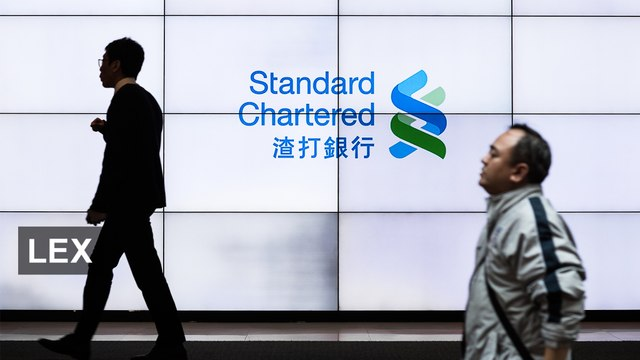 Standard Chartered's reshuffle
