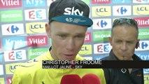 Cyclisme - Tour de France - 16e étape : Froome «Merci pour le soutien»