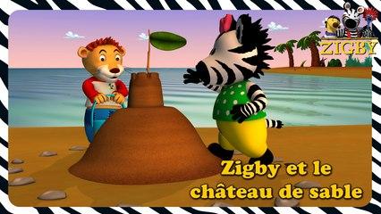 Zigby - Zigby et château de sable  (EP. 37)