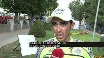Cyclisme - Tour de France - 16e étape : Contador «On a essayé d'animer la course»