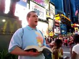 Timesquare NY Evangelism Street Preaching