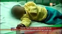 Bagua: Padres piden eutanasia para su bebé con neumonía y nadie los ayuda