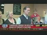 Ron Paul Cavuto Interview Pre Iowa Caucus Vote