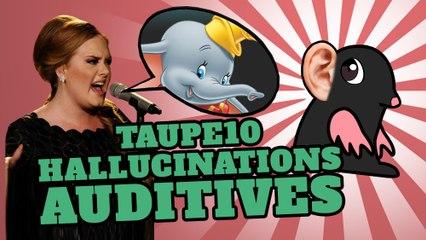 TOP 10 des hallucinations auditives