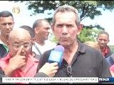 Vecinos protestaron en Guayana por retraso en cumplimiento de asfaltado