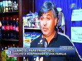 Papa Francisco sorprende a un familia llamándola por teléfono - 23/04/14