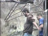 Bungee Jumping in New Zealand (portuguese mad man jumping)