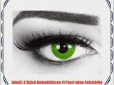 Meralens Mantis Kontaktlinsen mit Pflegemittel mit Beh?lter ohne St?rke 1er Pack (1 x 2 St?ck)