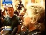 Intervista a Beppe Grillo su EuroNews