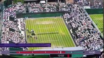 Amazing Tennis shot by Dustin Brown, Wimbledon 2015
