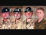 HOMMAGE AU SOLDATS CANADIENS  MORTS EN AFGHANISTAN