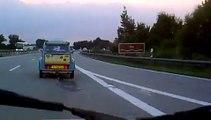 Border Germany - Austria in my Dyane