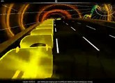 Audiosurf ~ Sasaki Hirofumi - The Least 100 sec (VISUALIZER CLASSIC) (with song tags)