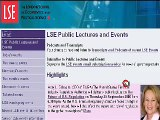 Very helpful podcast VODcast for LSE external or other stude