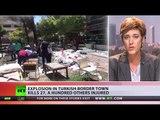 Terrorism in Turkey: Bomb kills 27, injures hundreds near Syrian border